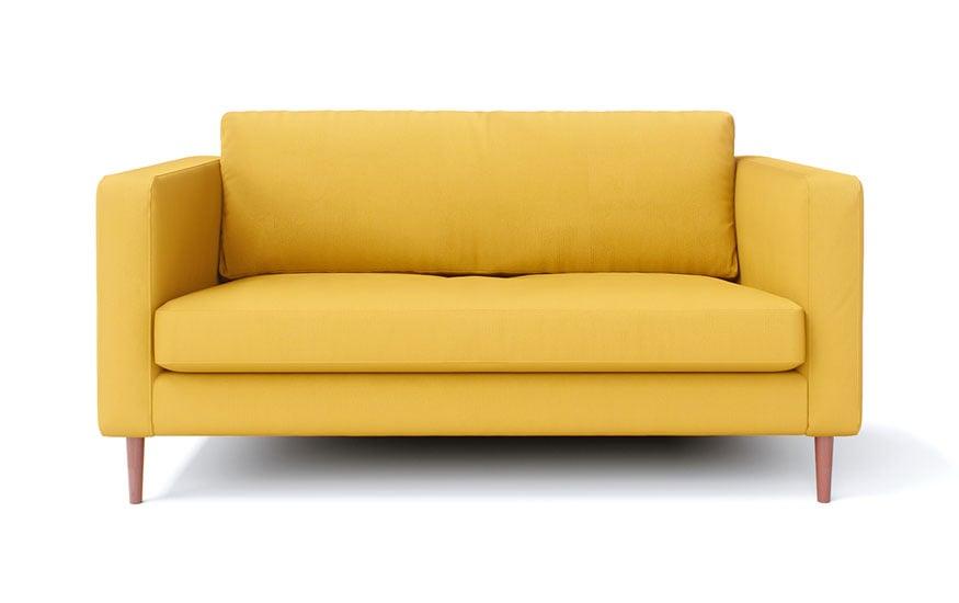 IKEA Karlstad 2 Seater in Shire Mustard
