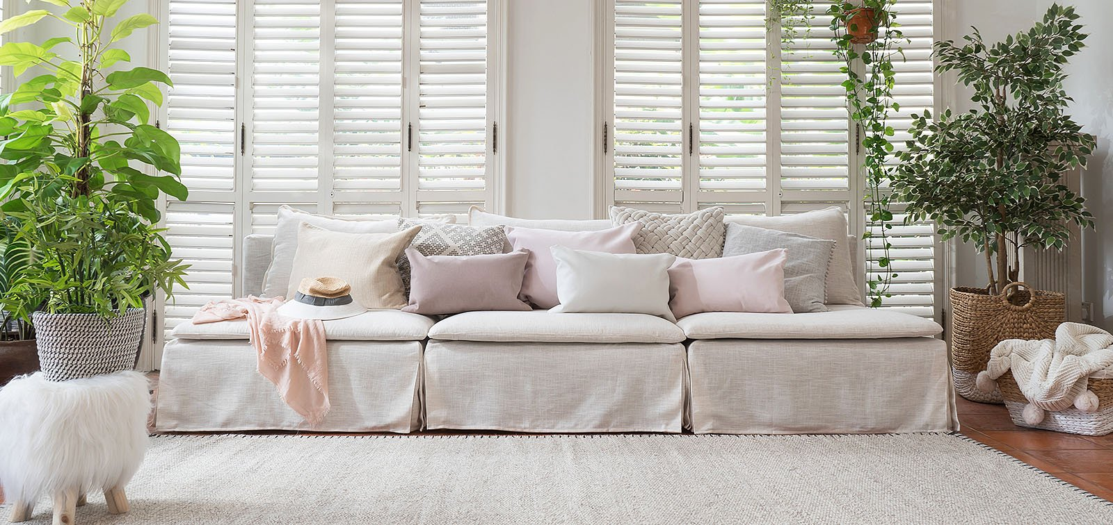 Luna | Affordable Linen Custom Slipcovers / Couch Covers | Comfort Works
