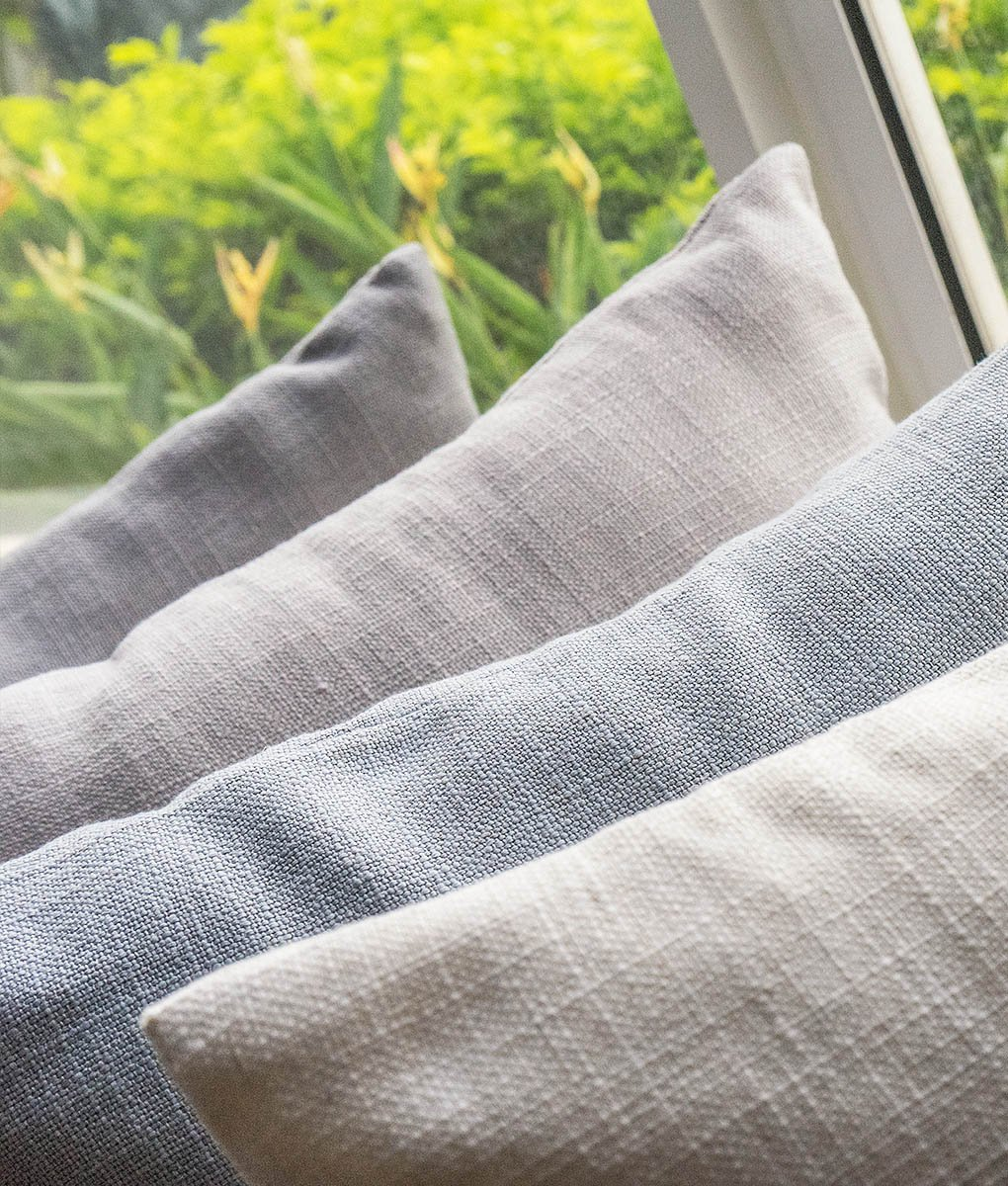 Linen Sofa Covers | Linen Couch Covers @ Comfort Works ...