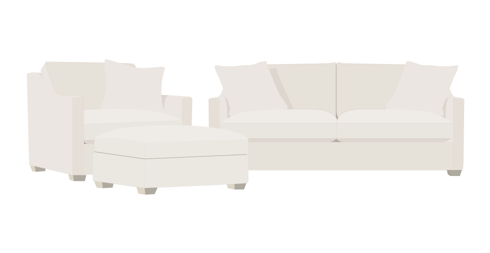 Rowe Bradford Replacement Sofa cover