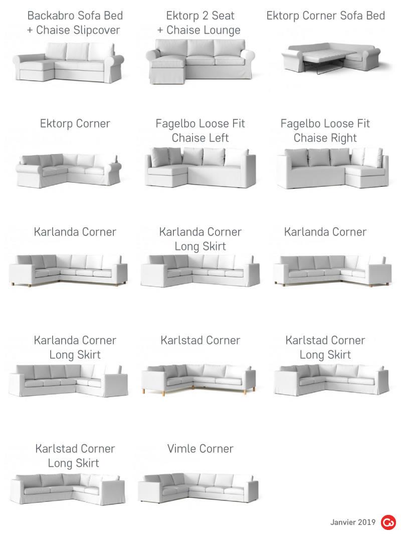 IKEA Canape d'angle