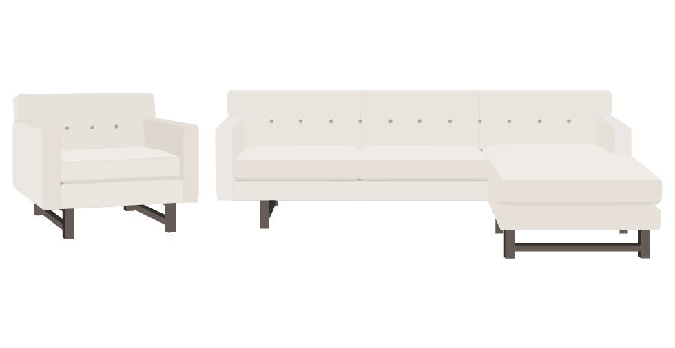 Room and Board Andre Sofa Cover