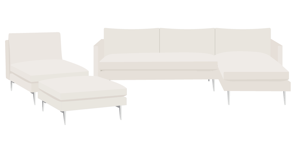 Room and Board Janus Slipcover