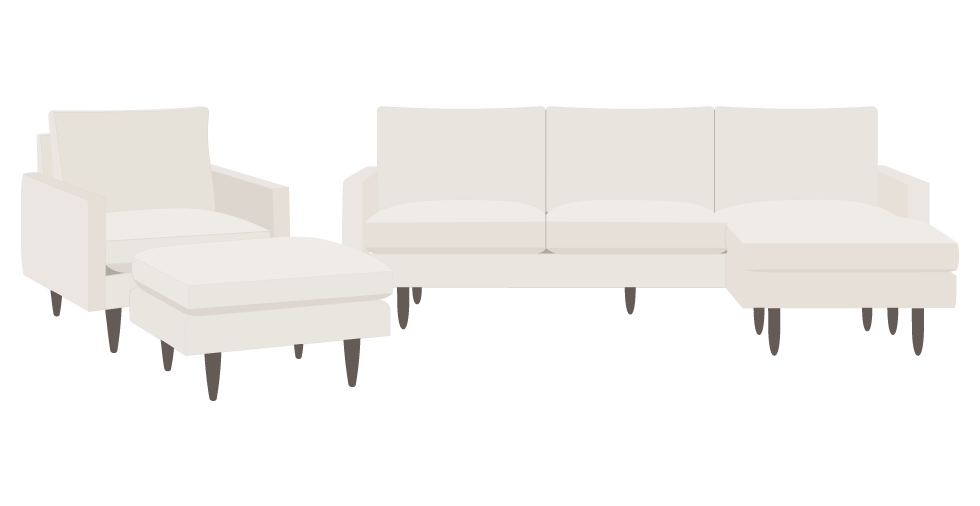 Mid Century Styling Meets Modern Comfort In The Jasper Daybed Narrow Arms Make Most Of Seating E While Tapered Legs Give A Light