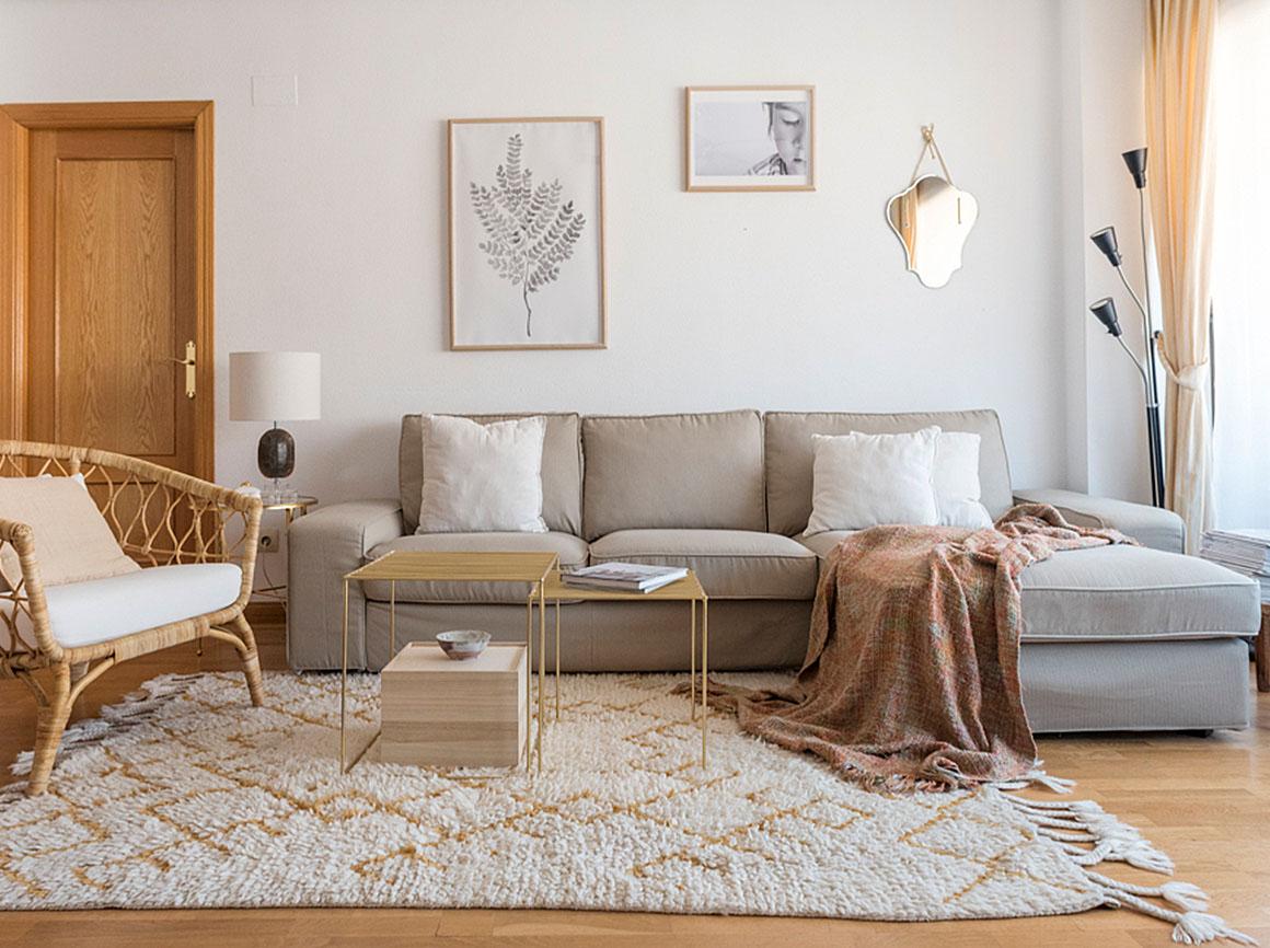 Sofa de Silvia Bujan con Funda de Sofa Comfort Works