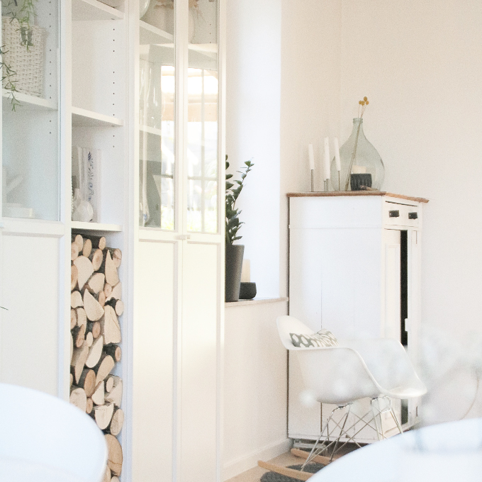 cupboard and decor
