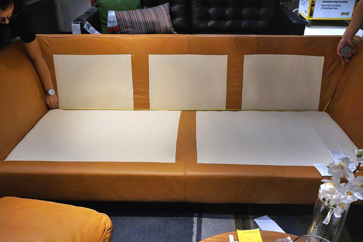 inner seating width