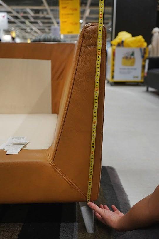 armrest height