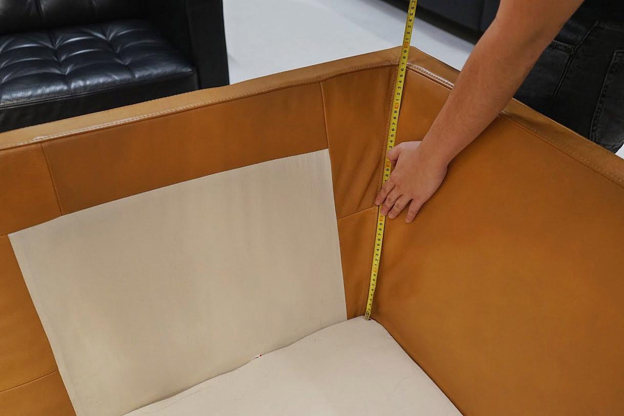 inner armrest/backrest length